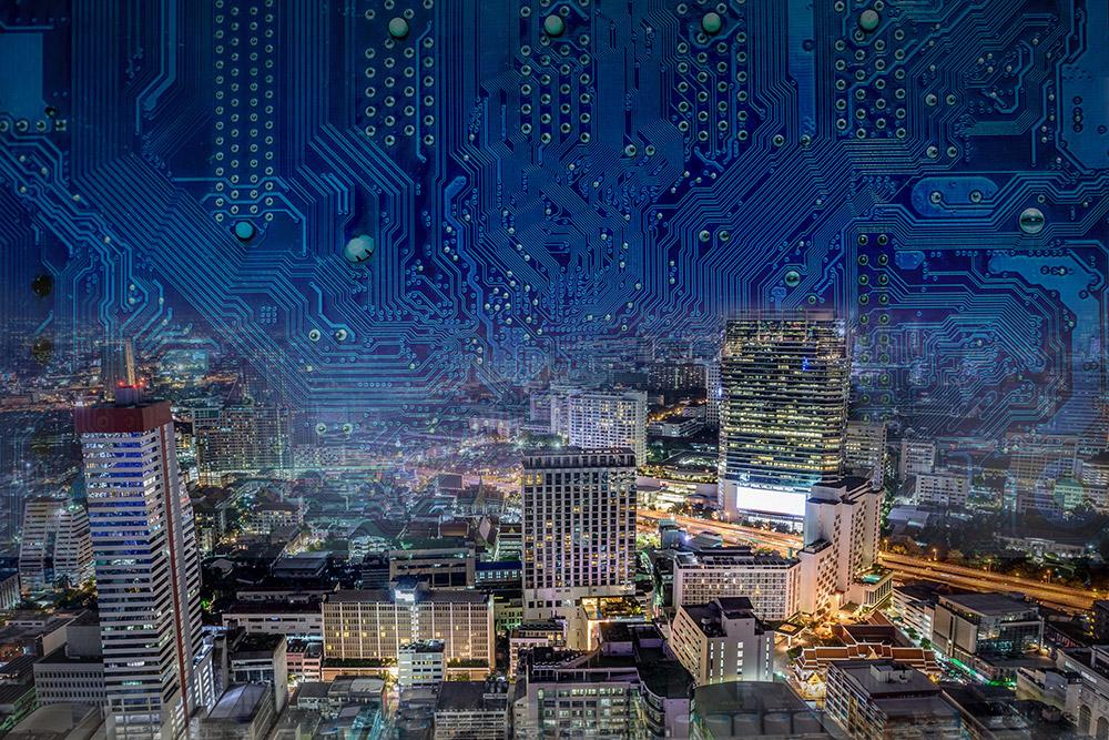 digital-skyline